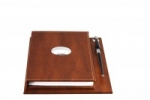 Rubrica + notes da tavolo con base e penna