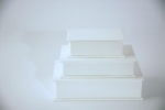Scatole rivestite in ecopelle